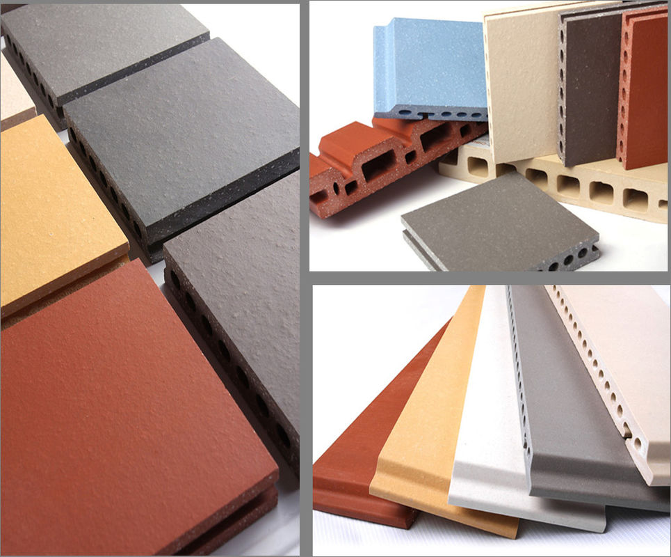 Thermal Insulated Exterior Wall Panels Flame Retardant With Hollow Structures