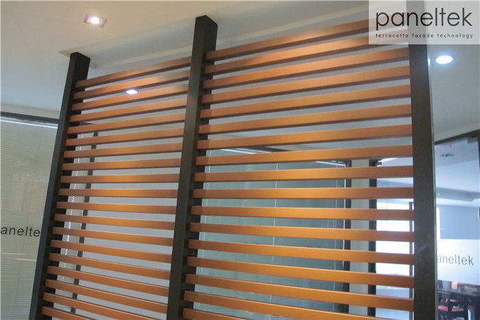 Heat Preservation Terracotta Baguette Louver With Easy Dry Hanging System
